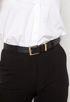 BUBBLEROOM Weslie chain belt Black / Gold Bubbleroom.no