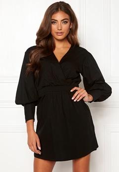 Moa Mattsson X Bubbleroom Puff sleeve dress Black Bubbleroom.no