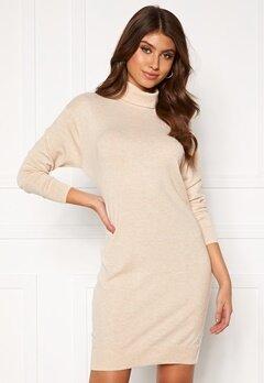 BUBBLEROOM Lulu knitted dress Beige Bubbleroom.no