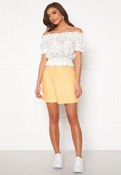 BUBBLEROOM Hilda skirt Light yellow Bubbleroom.no