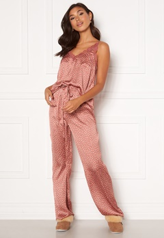 BUBBLEROOM Steph printed pyjama set Dusty pink / Dotted Bubbleroom.no