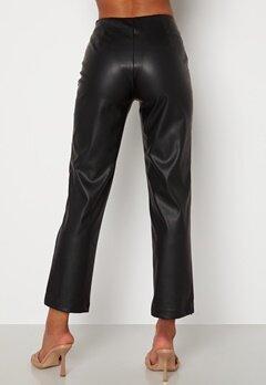 BUBBLEROOM Pailin cropped PU trousers Black bubbleroom.no