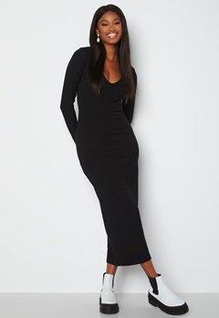BUBBLEROOM Majda long sleeve dress Black Bubbleroom.no