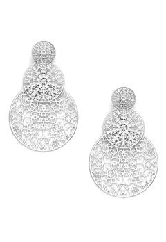 BY JOLIMA Spinn Triple Earring Silver Bubbleroom.no