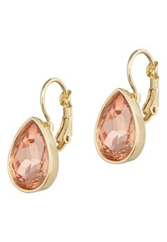 BY JOLIMA Tear Drop Earring Champagne Gold Bubbleroom.no