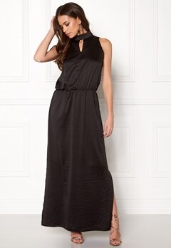 b.young Ingeborg Long Dress Black Bubbleroom.no