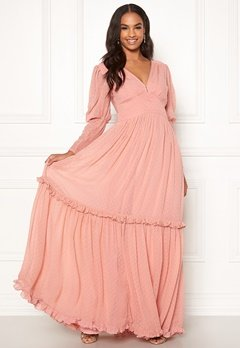 byTiMo Delicate Gown 477 Dusty Pink Bubbleroom.no