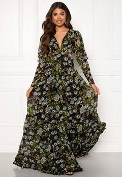 byTiMo Delicate Gown 907 Green Garden Bubbleroom.no
