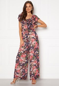 byTiMo Delicate Semi Jumpsuit Midnight Dream Bubbleroom.no