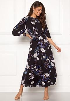 byTiMo Vintage Drape Midi Dress 913 Iris Bubbleroom.no