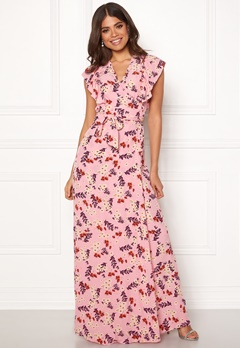 byTiMo Wrap Dress 854 Bloom Bubbleroom.no