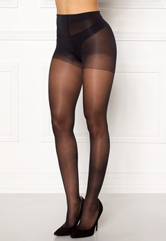 Calvin Klein Active Sheer 25 Den Tights Black Bubbleroom.no