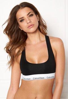 Calvin Klein CK Cotton Bralette 001 Black Bubbleroom.no