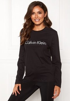 Calvin Klein CK L/S Crew Neck Black Bubbleroom.no