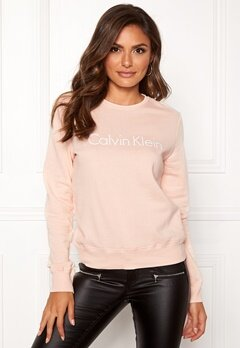 Calvin Klein CK L/S Sweatshirt Gold Blush Bubbleroom.no