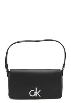 Calvin Klein Jeans Baguette Bag Bax Black Bubbleroom.no