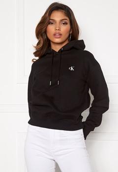 Calvin Klein Jeans CK Embroidery Hoodie BAE CK Black Bubbleroom.no