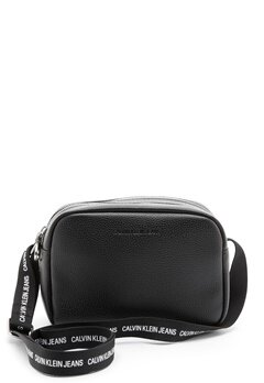 Calvin Klein Jeans Double Zip Camera Bag BDS Black Bubbleroom.no