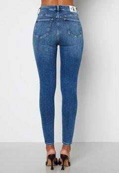 Calvin Klein Jeans High Rise Super Skinny Jeans Denim Medium bubbleroom.no