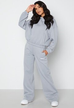 Calvin Klein Jeans Micro Flock Jog Pants PS8 Marble Grey bubbleroom.no