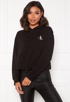 Calvin Klein L/S Hoodie 001 Black Bubbleroom.no