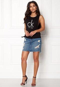 Calvin Klein Side Knot Tank 001 Black Bubbleroom.no
