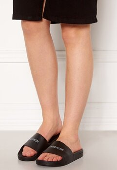 Calvin Klein Slide Sandals BEH Pvh Black Bubbleroom.no