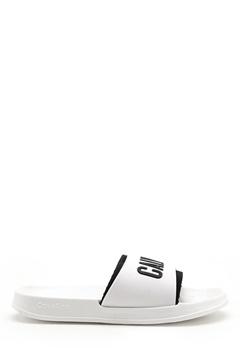 Calvin Klein Slide 100 White Bubbleroom.no