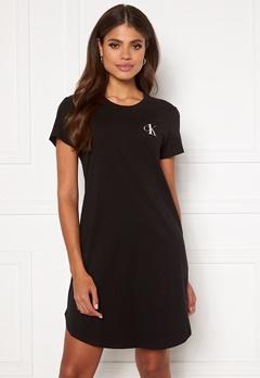 Calvin Klein S/S Nightshirt 020 Grey Heather Bubbleroom.no