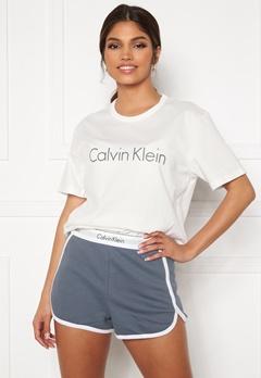 Calvin Klein S/S Short Set SWY Pewter Bubbleroom.no