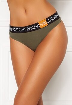 Calvin Klein Thong 7GV Army Dust Bubbleroom.no