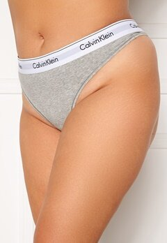 Calvin Klein Thong Plus PGK Grey Heather bubbleroom.no