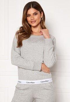 Calvin Klein Top Sweatshirt LS 020 Grey Heather Bubbleroom.no