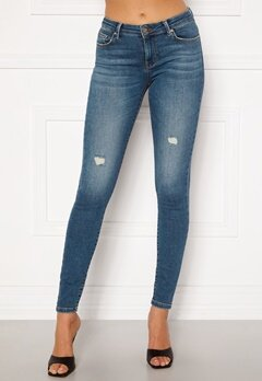 ONLY Carmen Life Reg Jeans Medium Blue Denim Bubbleroom.no