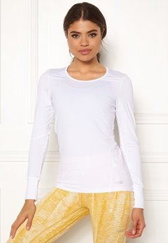 Casall Essential Long Sleeve 001 White Bubbleroom.no