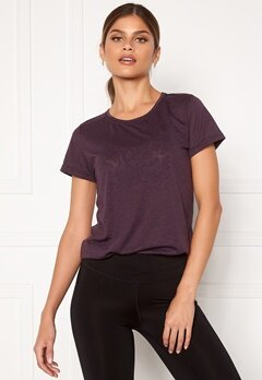 Casall Texture Tee 125 Revive Purple Bubbleroom.no