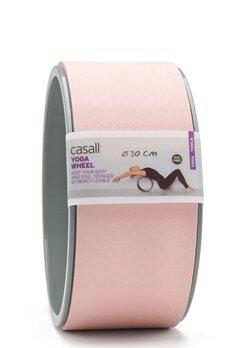 Casall Yoga Wheel Lucky Pink / Grey Bubbleroom.no