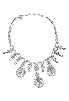 Love Rocks Cascade Necklace Silver Colour Bubbleroom.no