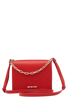 Love Moschino Chain Crossbody Bag 500 Red Bubbleroom.no