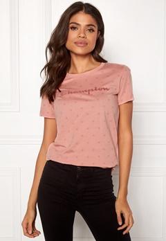 Champion Crewneck T-Shirt Rose Tan AL (RTN) Bubbleroom.no