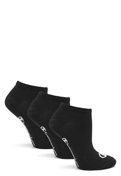 Champion No Show Socks 3-Pack Black Bubbleroom.no