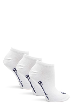 Champion No Show Socks 3-Pack White Bubbleroom.no