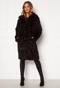 OBJECT Charlott Coat Black Bubbleroom.no