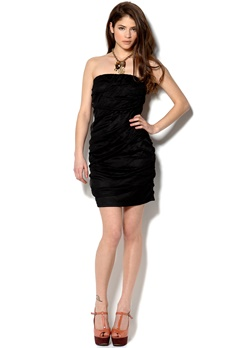 VILA Charmi Dress Black Bubbleroom.no