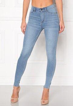 CHEAP MONDAY High Spray Jeans Lt Blue Bubbleroom.no