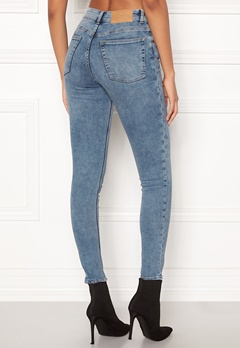 CHEAP MONDAY Mid Skin Jeans Media Blue Bubbleroom.no