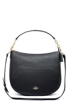 COACH Chelsey Leather Bag LIBLK Black Bubbleroom.no