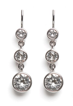 Dyrberg/Kern Chia Earrings Crystal Bubbleroom.no