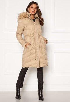 Chiara Forthi Adelfia Padded Jacket Camel Bubbleroom.no