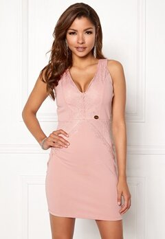 Chiara Forthi Adoree Dress Dusty pink Bubbleroom.no